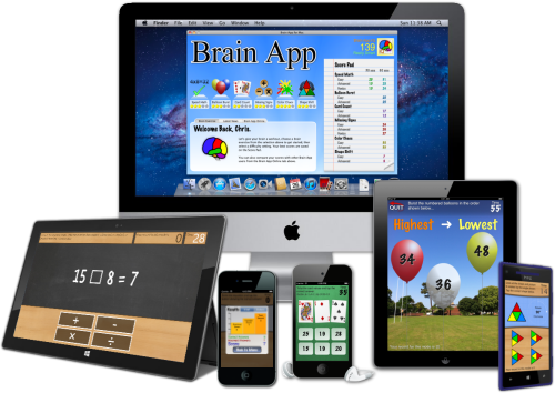 Brain App for PC, Mac, iPad, iPhone, Windows Phone.